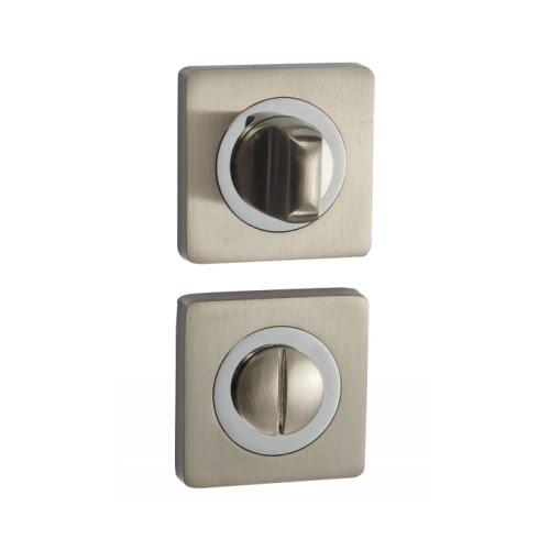 Завертка сантехническая BK02D (квадратная, матовый никель)