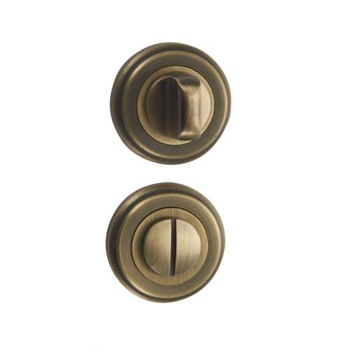 Завертка сантехническая BK03M (круглая, матовая бронза)