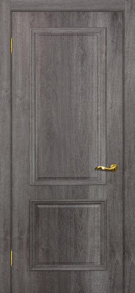 Межкомнатная дверь SK012 (экошпон «трюфель» / глухая)