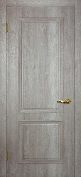 Межкомнатная дверь SK012 (экошпон «трюфель светлый» / глухая)