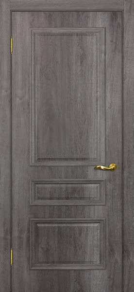 Межкомнатная дверь SK013 (экошпон «трюфель» / глухая)