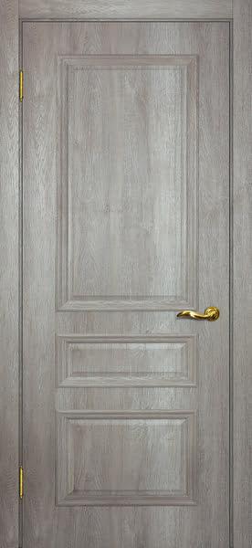Межкомнатная дверь SK013 (экошпон «трюфель светлый» / глухая)