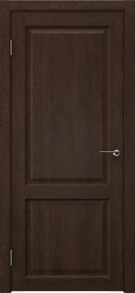 Межкомнатная дверь FK004 (экошпон «дуб шоколад» / глухая)