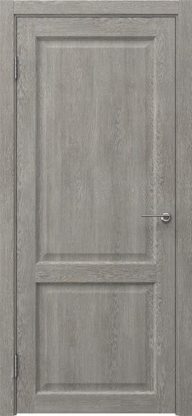 Межкомнатная дверь FK004 (экошпон «дымчатый дуб» / глухая)