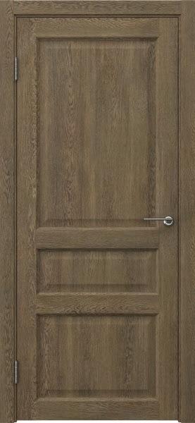 Межкомнатная дверь FK005 (экошпон «дуб антик» / глухая)