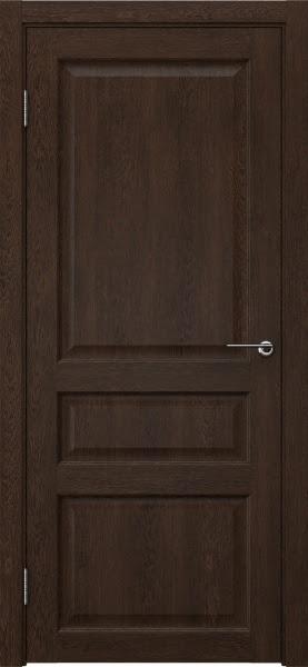 Межкомнатная дверь FK005 (экошпон «дуб шоколад» / глухая)