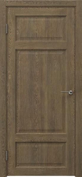 Межкомнатная дверь FK006 (экошпон «дуб антик» / глухая)