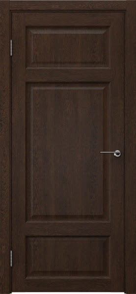 Межкомнатная дверь FK006 (экошпон «дуб шоколад» / глухая)