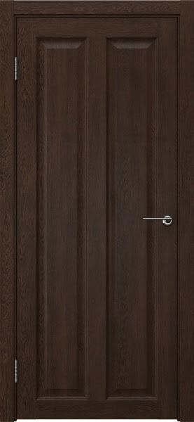 Межкомнатная дверь FK007 (экошпон «дуб шоколад» / глухая)