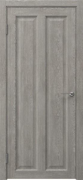 Межкомнатная дверь FK007 (экошпон «дымчатый дуб» / глухая)