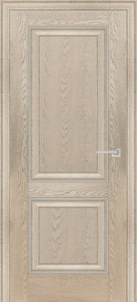 Межкомнатная дверь FK009 (экошпон «дуб английский кремовый» / глухая)