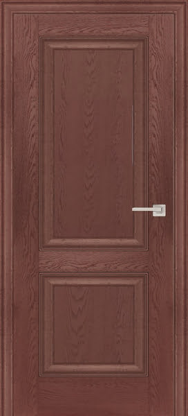 Межкомнатная дверь FK009 (экошпон «дуб английский темный» / глухая)