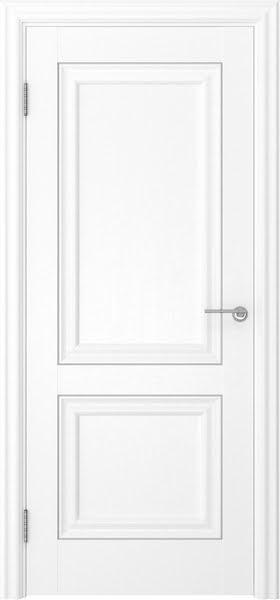 Межкомнатная дверь FK009 (экошпон «ясень белый» / глухая)