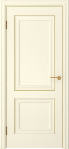 Межкомнатная дверь FK009 (экошпон «ваниль» / глухая)