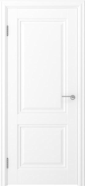 Межкомнатная дверь FK010 (экошпон белый / глухая)