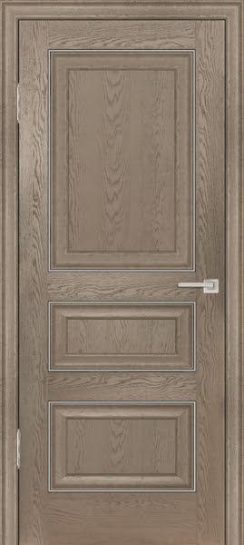 Межкомнатная дверь FK011 (экошпон «дуб английский бежевый» / глухая)