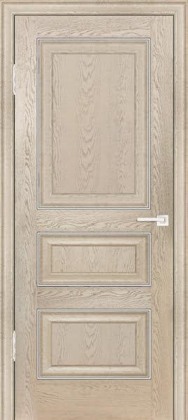 Межкомнатная дверь FK011 (экошпон «дуб английский кремовый» / глухая)
