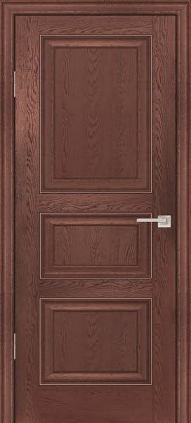 Межкомнатная дверь FK011 (экошпон «дуб английский темный» / глухая)