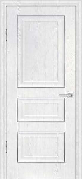 Межкомнатная дверь FK011 (экошпон «ясень белый» / глухая)