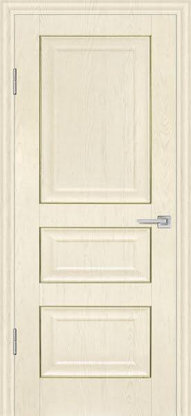 Межкомнатная дверь FK011 (экошпон «ваниль» / глухая)