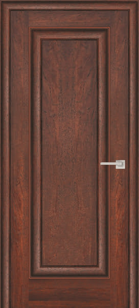 Межкомнатная дверь FK013 (экошпон «дуб английский темный» / глухая)