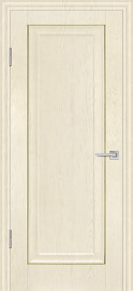 Межкомнатная дверь FK013 (экошпон «ваниль» / глухая)