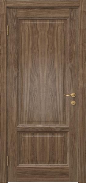 Межкомнатная дверь FK014 (шпон американский орех / глухая)