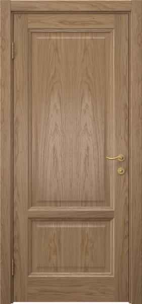 Межкомнатная дверь FK014 (шпон дуб светлый / глухая)