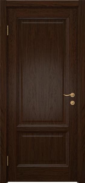 Межкомнатная дверь FK014 (шпон дуб коньяк / глухая)