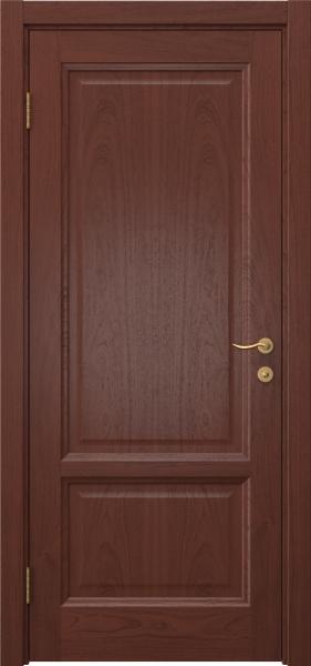Межкомнатная дверь FK014 (шпон красное дерево / глухая)