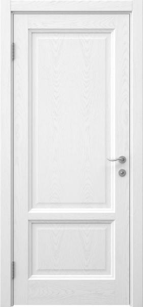 Межкомнатная дверь FK014 (шпон ясень белый / глухая)