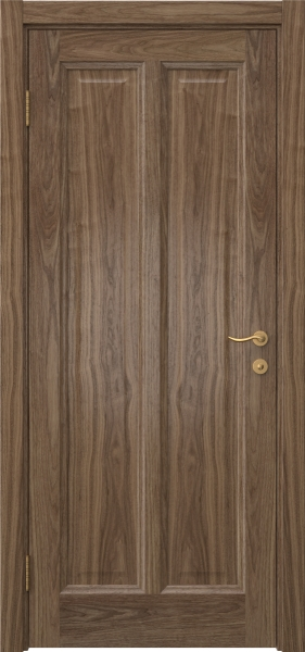 Межкомнатная дверь FK015 (шпон американский орех / глухая)