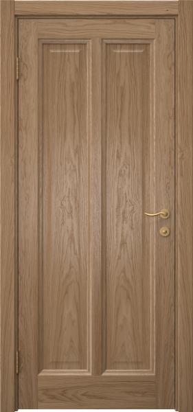 Межкомнатная дверь FK015 (шпон дуб светлый / глухая)