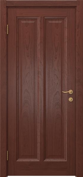 Межкомнатная дверь FK015 (шпон красное дерево / глухая)