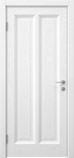 Межкомнатная дверь FK015 (шпон ясень белый / глухая)