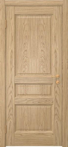 Межкомнатная дверь FK016 (натуральный шпон дуба / глухая)