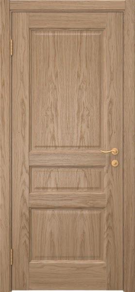 Межкомнатная дверь FK016 (шпон дуб светлый / глухая)