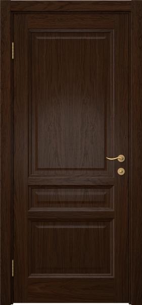 Межкомнатная дверь FK016 (шпон дуб коньяк / глухая)
