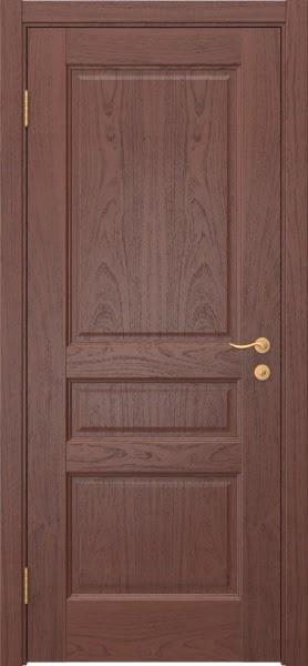 Межкомнатная дверь FK016 (шпон красное дерево / глухая)