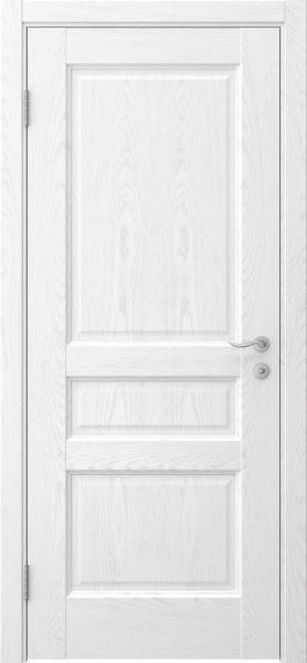 Межкомнатная дверь FK016 (шпон ясень белый / глухая)