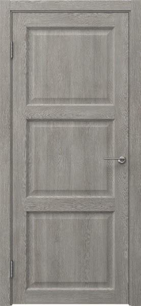 Межкомнатная дверь FK017 (экошпон «дымчатый дуб» / глухая)