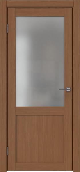 Межкомнатная дверь FK022 (экошпон «орех FL», матовое стекло)