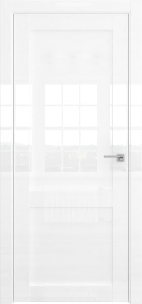 Межкомнатная дверь FK022 (белая глянцевая, глухая)