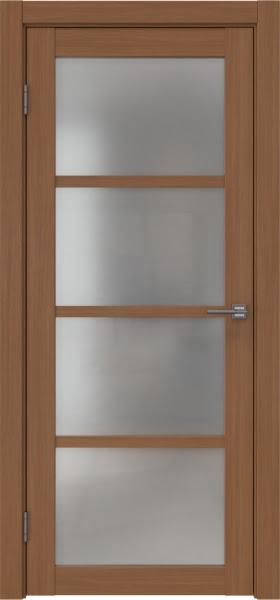 Межкомнатная дверь FK027 (экошпон «орех FL», матовое стекло)
