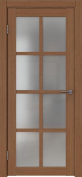 Межкомнатная дверь FK028 (экошпон «орех FL», матовое стекло)
