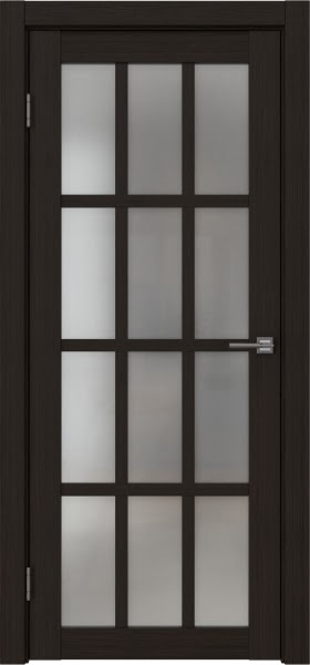 Межкомнатная дверь FK029 (экошпон «венге FL», матовое стекло)