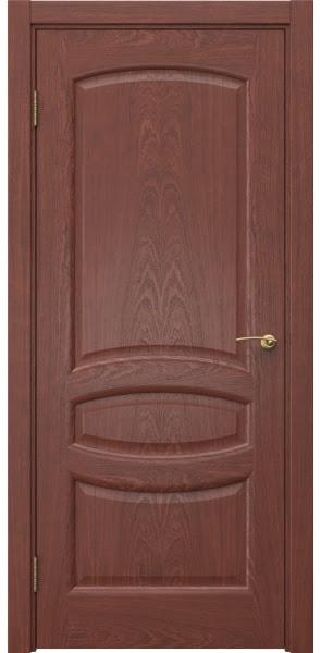 Межкомнатная дверь FK030 (шпон красное дерево / глухая)