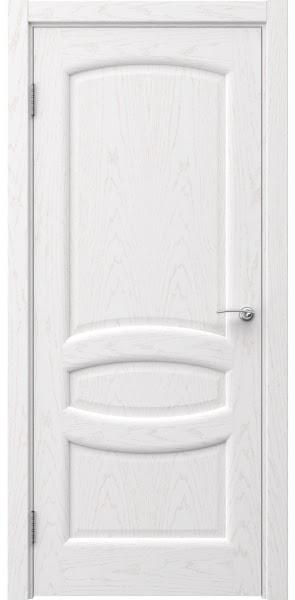Межкомнатная дверь FK030 (шпон ясень белый / глухая)
