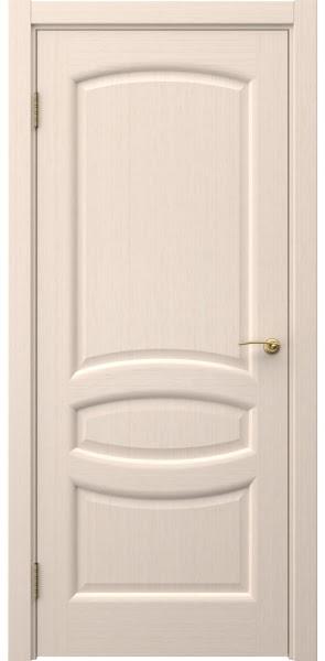 Межкомнатная дверь FK030 (шпон беленый дуб / глухая)