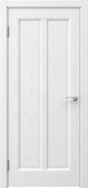 Межкомнатная дверь FK032 (шпон ясень белый / глухая)